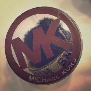 New Michael Kors furry earmuffs